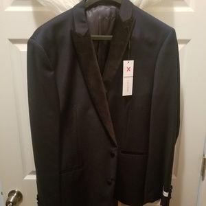 Midnight blue never worn Calvin Klein tuxedo jacke